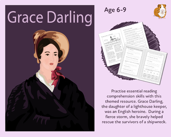 Grace Darling: Let's Practise Our Reading Comprehension (6-9 years)