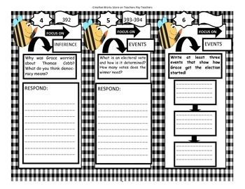 Grace For President - Tri-Folds + Activities ( 2nd Grade)