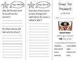 Grace For President Trifold - Wonders 2nd Grade Unit 5 Week 1