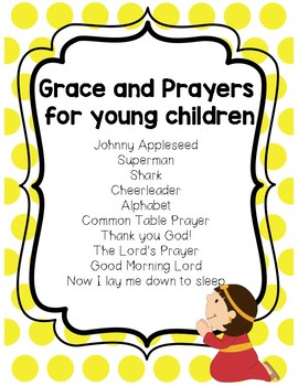 Grace and Prayers for Young Children
