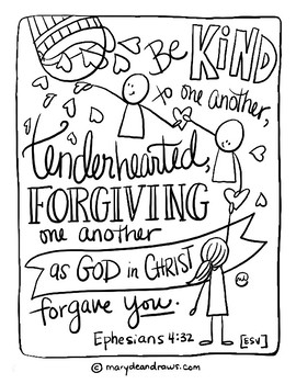 bible coloring pages love one another | Sunday school coloring ... | 350x270