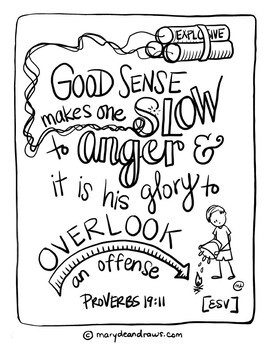 Grace Filled Words Ways 8 Hand Drawn Bible Verse Coloring Pages