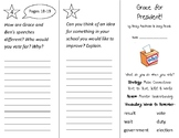 Grace for President Trifold - 2nd Grade Literacy by Design Theme 9