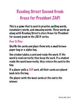 Grace for President ZAP