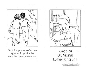 Gracias Dr. Martin Luther King Jr.