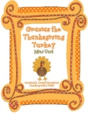Gracias the Thankgsiving Turkey Activities {English version}