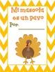 Gracias the Thanksgiving Turkey Activities {Spanish Version}