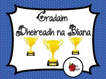 Gradaim Dheireadh na Bliana as Gaeilge // End of Year Awards in Irish