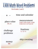 Grade 1-2 Math Word Problems: The Complete Set