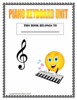Grade 1-2 Piano Keyboard Unit