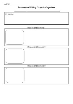 Grade 1 2 Writers Workshop Graphic Organizers How To Informational Persuasive