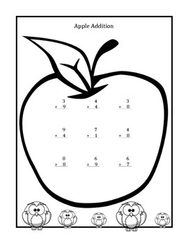 Addition Booklet for Grades 1-4 (1, 2, and 3 Digit Addition & Problem Solving)