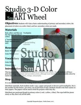 Grade 1 3D Color Wheel Lesson