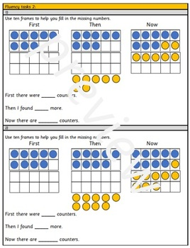 Grade 1 - Add by counting on