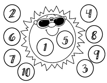 Grade 1- Addition and Subtraction bump with 10- Spring Themed