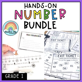 All About Numbers BUNDLE - hands on maths activities - Grade 1