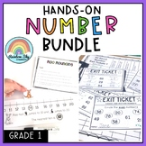 Grade 1 All About Numbers BUNDLE