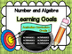 Grade 1 All Mathematic Strands Learning Goals & Success Criteria BUNDLED!