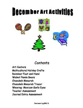 Grade 1 Art Lessons for December