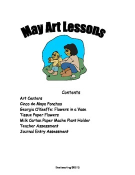 Grade 1 Art Lessons for May