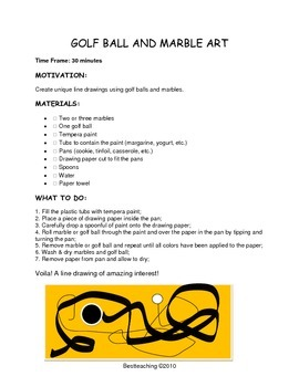 Grade 1 Art Lessons for October