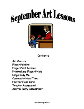 Grade 1 Art Lessons for September