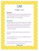 ZAP! Sight Word & Word Work Game ~ Grade 1 BUNDLE (4 Word lists!)