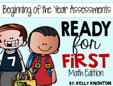 Beginning of the Year Math Assessments {First Grade}