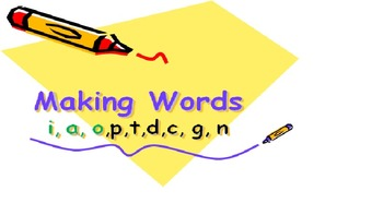 Grade 1 Build word printables!!