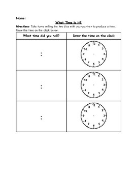 Telling Time Lesson Plans Worksheets & Teaching Resources   TpT
