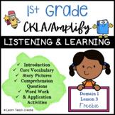 Grade 1 CKLA | Domain 1 | Fables & Stories Slideshows FREEBIE