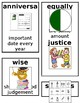 Grade 1 CKLA Domain 10: New Nation US Independence Core Vocabulary Cards