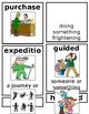 Grade 1 CKLA Domain 11: Frontier Explorers Core Vocabulary Cards