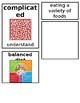 Grade 1 CKLA Domain 2:The Human Body Core Vocabulary Cards
