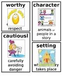 Grade 1 CKLA Domain 3: Different Lands, Similar Stories Core Vocabulary Cards