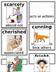 Grade 1 CKLA Domain 3: Different Lands, Similar Stories Core Vocabulary Cards