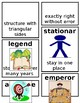 Grade 1 CKLA Domain 5: Early American Civilizations Core Vocabulary Cards