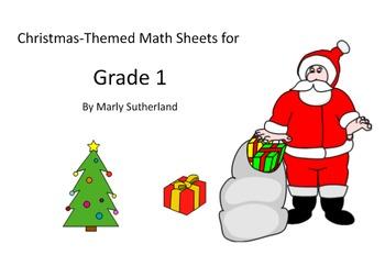 Grade 1 Christmas Math Sheets