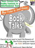 Grade 1 Non Fiction Reading Group Booktalks