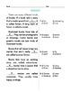 Grade 1 Common Core Reading: Informational Texts Cloze FREE SAMPLE