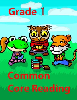 Grade 1 Common Core Reading: Literature Mini-Bundle #3