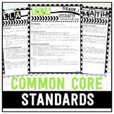 Grade 1 Common Core State Standards