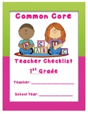 Grade 1 Common Core Yearly Checklist