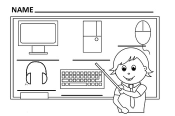 Grade 1 - Computer Parts