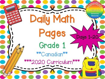 Grade 1 Daily Math Days 1-20