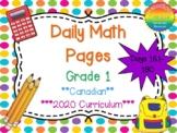 Grade 1 Daily Math Days 161-180