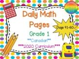 Grade 1 Daily Math Days 41-60