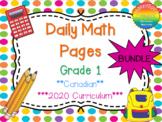 Grade 1 Daily Math Bundle