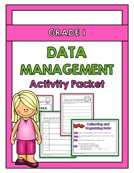 {Grade 1} Data Management Activity Packet