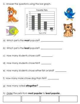 Grade 1 Data Management Assessment